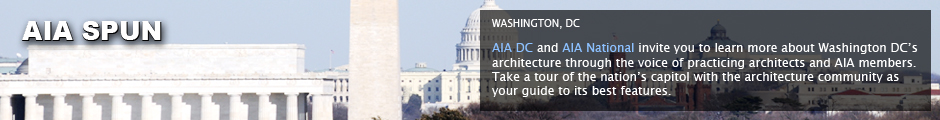 AIA Broadcastr: Washington, DC: AIA DC and AIA National invite you to learn more about Washington DC's architecture through the voice of practicing architects and AIA members. Take a tour of the nation's captiol with the architecture community as your guide to its best features.