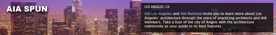 AIA Broadcastr: Los Angeles, CA: AIA Los Angeles and AIA National invite you to learn more about Los Angeles' architecture through the voice of practicing architects and AIA members. Take a tour of the city of Angels with the architecture community as your guide to its best features.