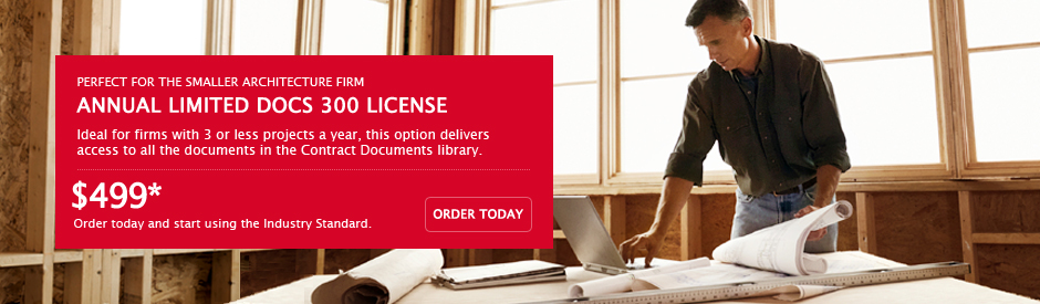 AIA Contract Documents - For Architects