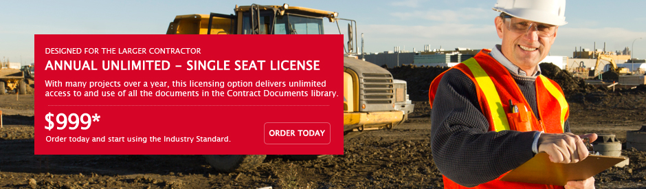 AIA Contract Documents - For Contractors