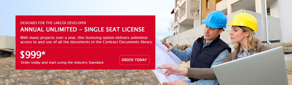 AIA Contract Documents - Owners / Developers