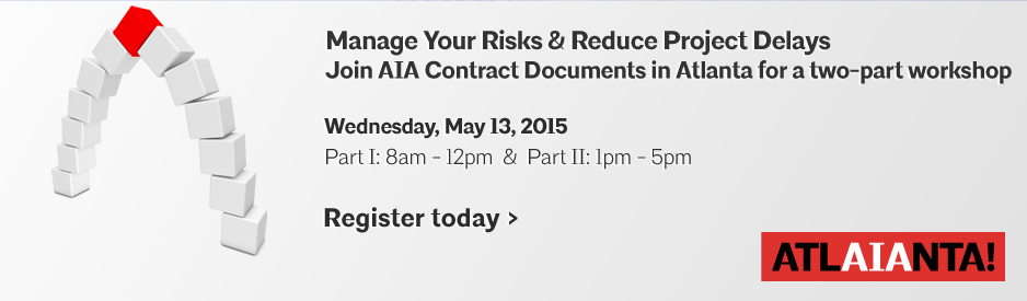 Manage Your Risks Workshop at 2015 AIA Convention