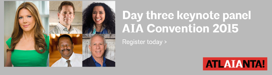 Day Three Keynotes at 2015 AIA National Convention